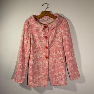 ELIE TAHARI Vintage Style Blazer Coat